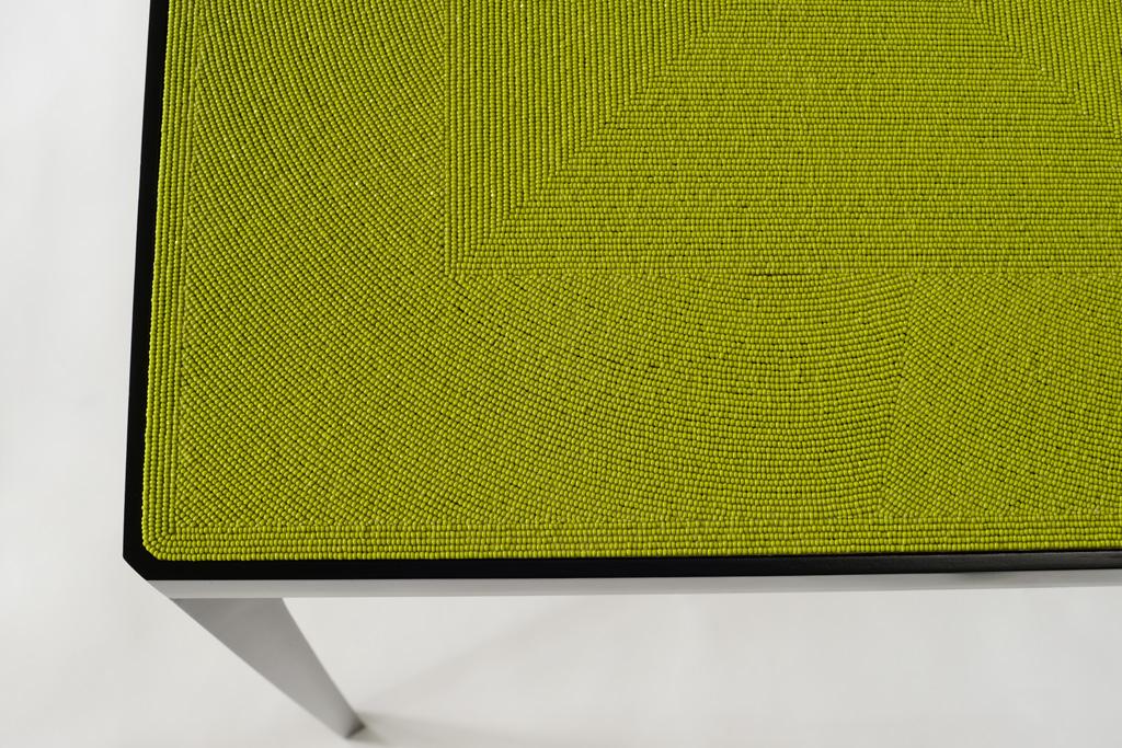 Pierre Saalburg, TABLE À PERLES - © Photo Katrin Vierkant
