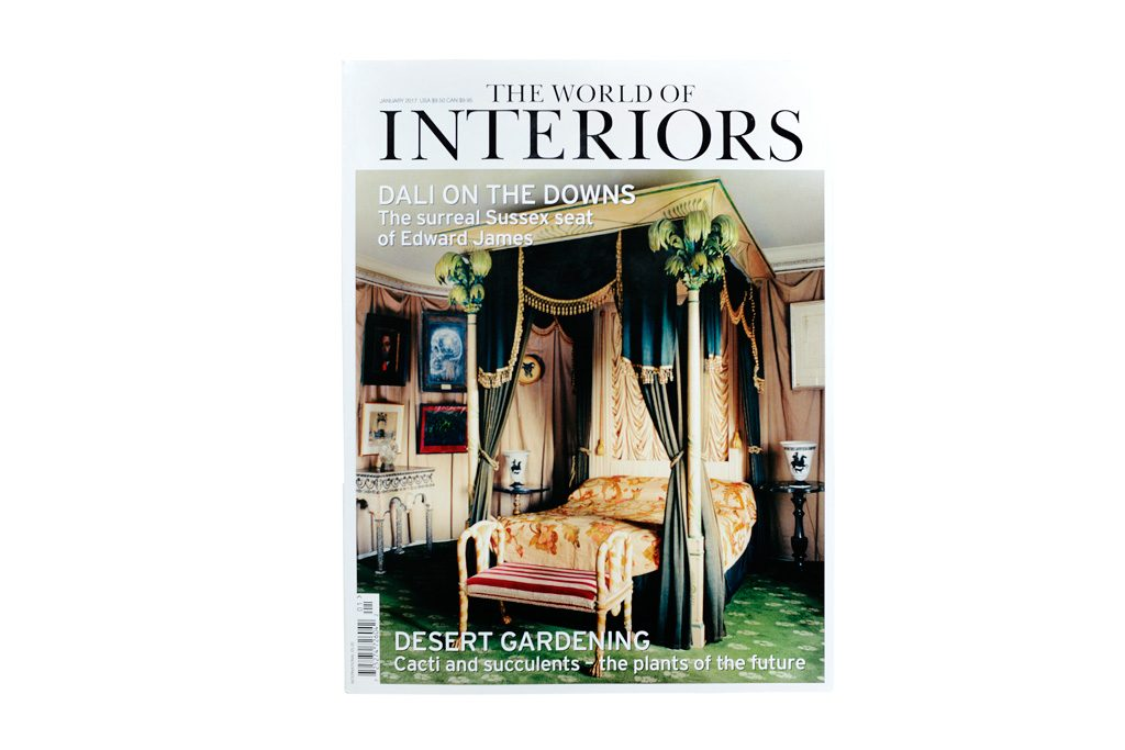 Pierre Saalburg - THE WORLD OF INTERIORS / 01-2017